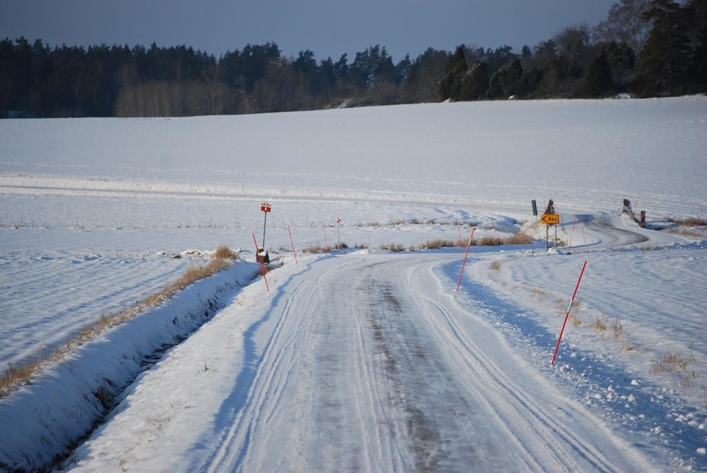 Passar på att lägga in lite vinterbilder från den vackra dagen utanför Knivsta