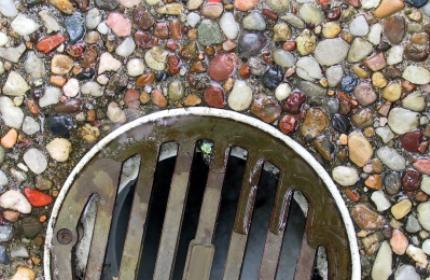 Dagvattenbrunn, rensa brunnar, översvämmning, igensatt brunn